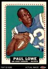 1964 Topps #165 Paul Lowe Chargers Oregon St 4 - VG/EX $22.0 USD on eBay