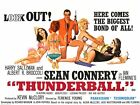 Thunderball James Bond 35mm Film Cell strip very Rare var_q £1.75 GBP on eBay