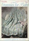 GRANNIES FOR BABY - BOOK 2 ~ LEISURE ARTS 5 designs