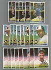 1984 DONRUSS #281 PETE O'BRIEN ROOKIE (LOT OF 5  MINT)  FREE COMBINED S&H