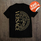 HOT Vintage Men's Versace2019 Famous T-Shirt Full Size 100% Cotton image