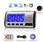 Used, Mini Camera Alarm Clock Micro Nanny Cam Motion Detection Security DV DVR Video for sale  Shipping to Canada