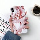 Glossy Marble Case on For iPhones XS MAX and XS Back Cover