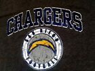 Short Sleeve T-shirt  San Diego Chargers NFL Team Apparel Charcoal Shirts $9.99 USD on eBay