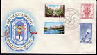 1956 Australia VPA Melbourne Olympic Games Torch Cover Station Pier w/- Creases