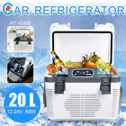 20L DC 12V/24V AC220V Portable Fridge Cooler Car Refrigerator Home Cooler Warmer