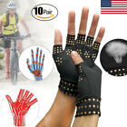 Copper Hands Arthritis Gloves Therapeutic Compression Brace Magnetic Joints USA $5.98 USD on eBay