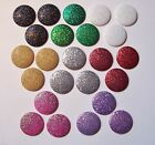 NEW 3 Large Colored Glitter Dot Decorative Push PinsThumbtackMagnet 8