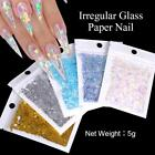 Nail Glitter Sequins Holographic Fluorescent Various Nail Art 3D Decoration DIY
