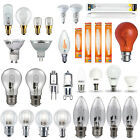 GU10, Candle, Golf Ball, GLS, G4 Halogen, LED, Appliance Household Light Bulbs