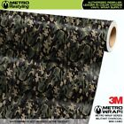 MINI MILITANT CHARCOAL Camouflage Vinyl Vehicle Car Wrap Camo Film Sheet Roll