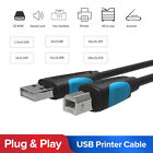 VENTION USB 2.0 480Mbps Data Male Cable Type A To B for Scanner Printer K4Y9