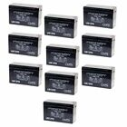 NEW 10 PACK UPG UB1290 12V 9AH Battery Replaces Boss Buck 600LB Automatic Feeder