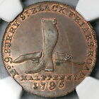 1795 NGC MS 63 Boots Shoes Conder 1/2 Penny Guest's D&H 308 (18021707C)