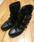 GEOX CHAUSSURE BOOTS WOMAN ELENI D4467C size 41 LEATHER