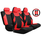 Tirol Universal 13PCS Car Seat Cover Front Seat Bench Seat Covers Wheel F2M2 $24.49 USD on eBay