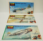 Letraset Action Transfers Action Profile WWII Fighter Plane Booklets x3 (unused)