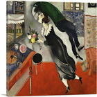 ARTCANVAS Birthday 1915 Canvas Art Print by Marc Chagall