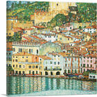 ARTCANVAS Malcesine Lake Garda 1913 Canvas Art Print by Gustav Klimt