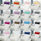 2Pcs Solid Pillow Case Cover Pillowcase Standard Queen King Body Size image