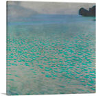ARTCANVAS Attersee 1900 Canvas Art Print by Gustav Klimt