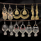 Fashion Bollywood Bohemian Silver Gold Plated jhumka Handmade Dangle Earrings