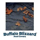 Buffalo Blizzard Swimming Pool Round & Oval Above Ground Leaf Net Catcher Cover