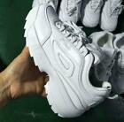Womens Girls FILA Disruptor II 2 Sneakers Casual Athletic Running Sports Shoes