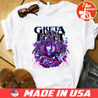 RARE !!! GRETA VAN FLEET 2018 tour dates T Shirt White Size S to 4XL image