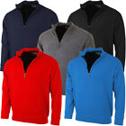 Proquip Golf Mens PQ Lined Half Zip Merino Sweater Pullover Jumper 29% OFF RRP
