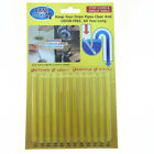 12/60Pack Sticks Keep Drain And Pipes Clear And Odor As Seen On TV Cleaning