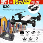 1080P RC Drone Foldable 2.4/5G WIFI With FPV HD Camera Remote Control Quadcopter