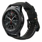 Replacement Genuine Leather Strap Bracelet Band For Samsung Galaxy Watch 42/46mm