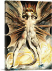 The Great Red Dragon and the Woman Clothed in Sun Canvas Art Print William Blake