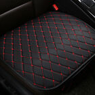 1PC Car Auto Seat Cover Front Cushion Black PU+Red Line Car Chair Accessories