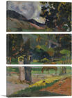 ARTCANVAS Tahitian Landscape 1892 Canvas Art Print by Paul Gauguin