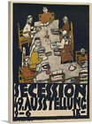 ARTCANVAS Poster For The Vienna Secession 1918 Canvas Art Print by Egon Schiele