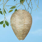 2PC Wasp Deterrent Yellowjackets Bee Hornets- Fake Nest- Simulated & Natural NEW