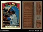1972 Topps #117 Cleo James Green Cubs VG/EX