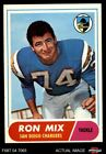 1968 Topps #89 Ron Mix Chargers EX/MT $6.75 USD on eBay