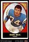 1967 Topps #125 Ron Mix Chargers VG $3.5 USD on eBay