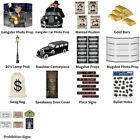 1920'S GANGSTER PROHIBITION AL CAPONE DECORATIONS - COMPLETE PARTY COLLECTION