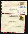 Panama Colombia Peru Argentina Official cover Uruguay embassy Franquicia Postal