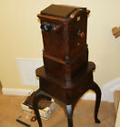 1859 Beckers Sweetheart TABLE MOUNTED w/drop down lens stereoscope stereoviewer