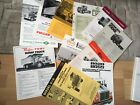 AMERICAN TRUCK SPECIFICATION SHEETS  X 11.    60/70s   USA AUSTRALIAN MARKETS