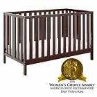 Storkcraft Pacific 4-in-1 Convertible Crib - Converts to Toddler Bed, Daybed,