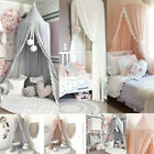 Kids Baby Bed Canopy Bedcover Mosquito Net Curtain Bedding Dome Tent Cotton new image