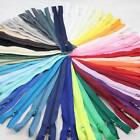 "4"" 5"" 6"" 7"" 8"" 10"" CLOSED END No.3 NYLON ZIPS *6 SIZES  BUY 5 GET 5 FREE"