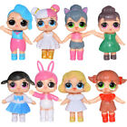 DE 8pcs L.O.L. Surprise Doll Series LOL Tear Open Random Color Kinder Spielzeug