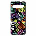 Silicone Phone Case Back Cover Tribal Abstract Art Pattern - S511